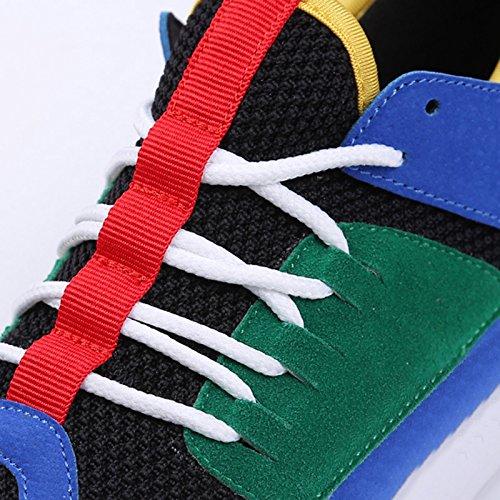 Scarpe Scarpe Donna Coreana Stile Estiva Nuovo Accogliente Traspirante Versione Selvaggio Stagione Basse da Sandales Nero Sportive Scarpe Maglia n7Xq0B