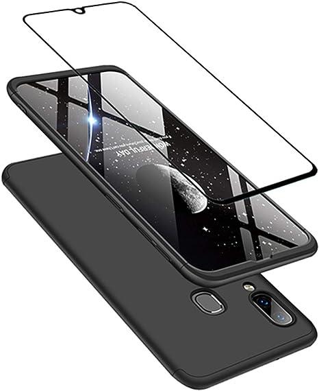 JOYTAG compatibles para Funda Samsung A40 Carcasa +Protectora de ...