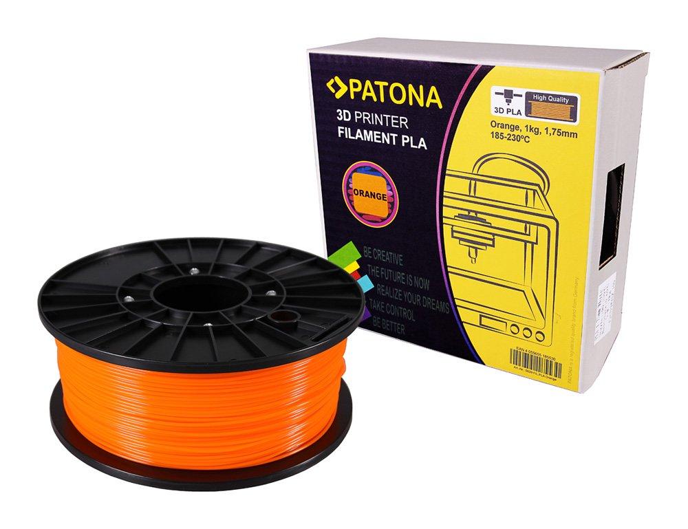 ABS Patona 3D Printer Filament weiss Spule // 1Kg // 1,75mm