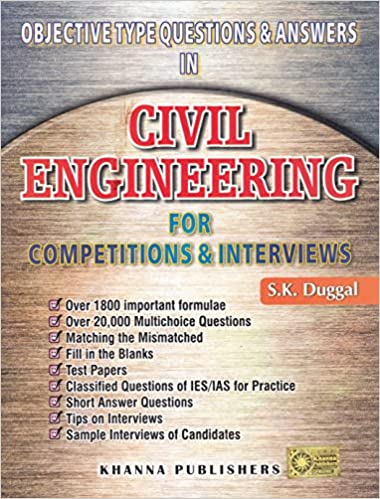 Buy objective type questions answers in civil engineering for buy objective type questions answers in civil engineering for competitions interviews book online at low prices in india objective type questions fandeluxe Gallery