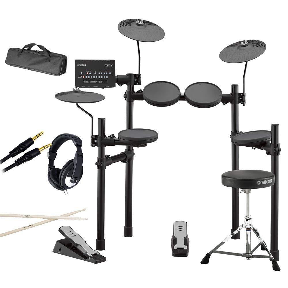 YAMAHA DTX402KS 自宅練習6点セット 電子ドラムセット ヤマハ   B07FW4512W