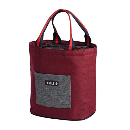 bc064078c4b4 Amazon.com: Lunch Bags Insulated with Aluminum Foil, Large Lunch Box ...
