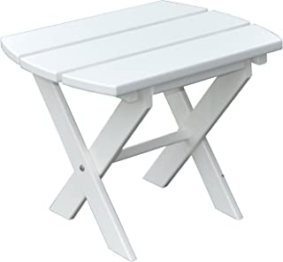 product image for Poly Folding End Table - White