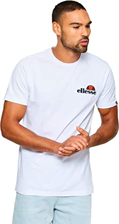 e5a4b4fc4c6 ellesse Mens Voodoo T-Shirt in White | Amazon.com