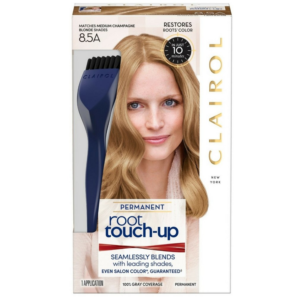 Nice 'n Easy Root Touch-Up, Medium Champagne Blonde 8.5A 1 ea (Pack of 8)
