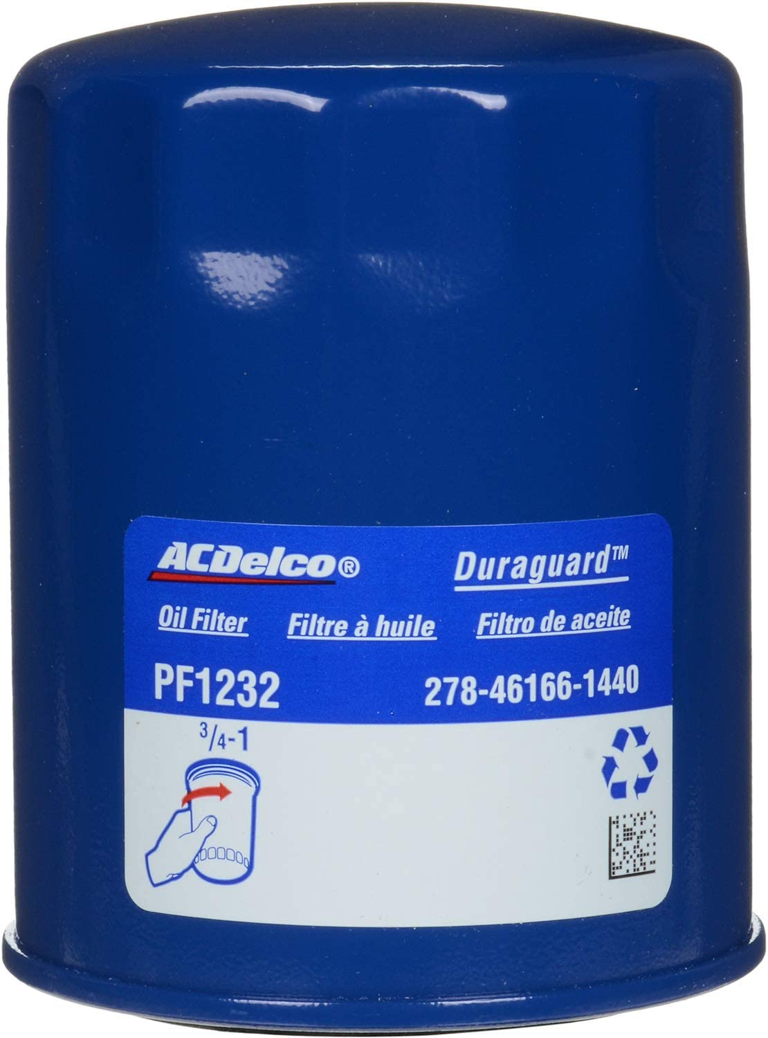 ACDelco PF1232 Professional Engine Oil Filter