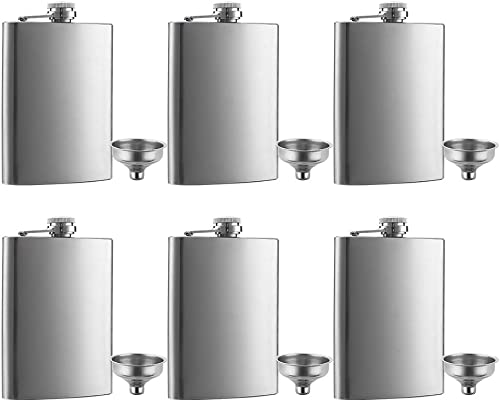 QLL 8 oz Hip Stainless Steel Flask