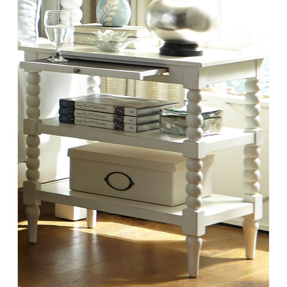 """Liberty Furniture Industries Linen Finish Open Night Stand, 26"""" x 18"""" x 30"""", Harbor View II"""