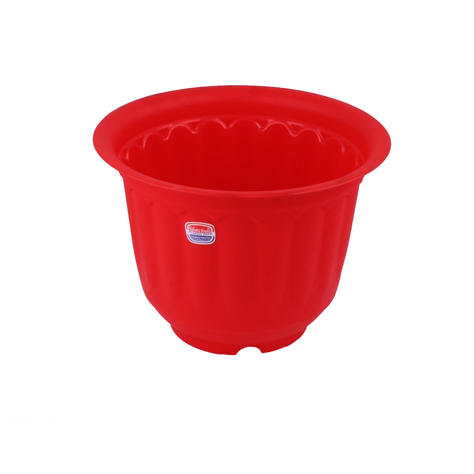 Gardens Need Jasmine Pot with Bottom Tray Set (10-inch, Red, 3-Pieces) (B01N9FD9KO) Amazon Price History, Amazon Price Tracker