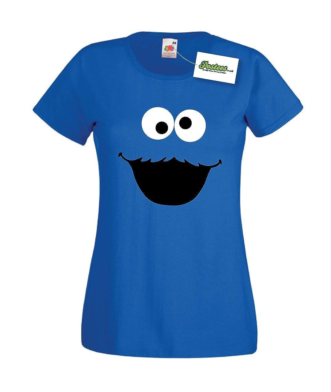 Traje de neopreno para mujer T-Shirt Monstruo de las galletas ...