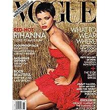 Vogue Magazine (November 2012) Rihanna (Red-Hot!)
