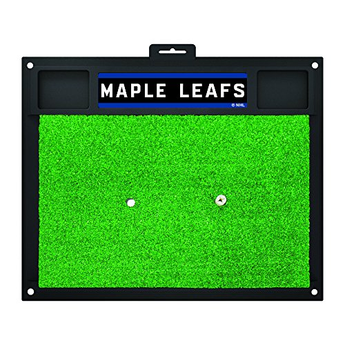 Fanmats 16992 Team Color 20'' x 17'' NHL - Toronto Maple Leafs Golf Hitting Mat by Fanmats