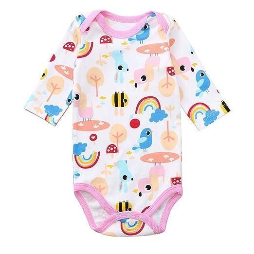 312a99a00961 Amazon.com  Alixyz Animal Print Romper Jumpsuit Toddler Infant Baby ...