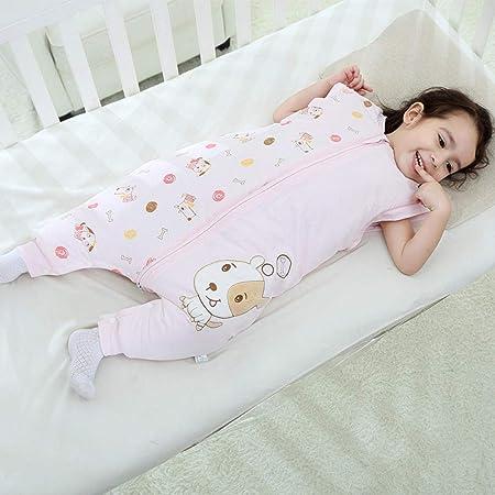 Northerncold Saco de Dormir Infantil Verano,Saco de Dormir para bebé Modelos de otoño e Invierno, piernas Gruesas Saco de Dormir para bebé -Pink_90cm,Saco de Dormir para bebé Súper Suave y Ligero: Amazon.es: Hogar