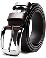 Riorune メンズ ベルト 本革 レザー カジュアル ビジネス