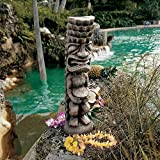 Design Toscano Tiki God of the Luau Statue For Sale