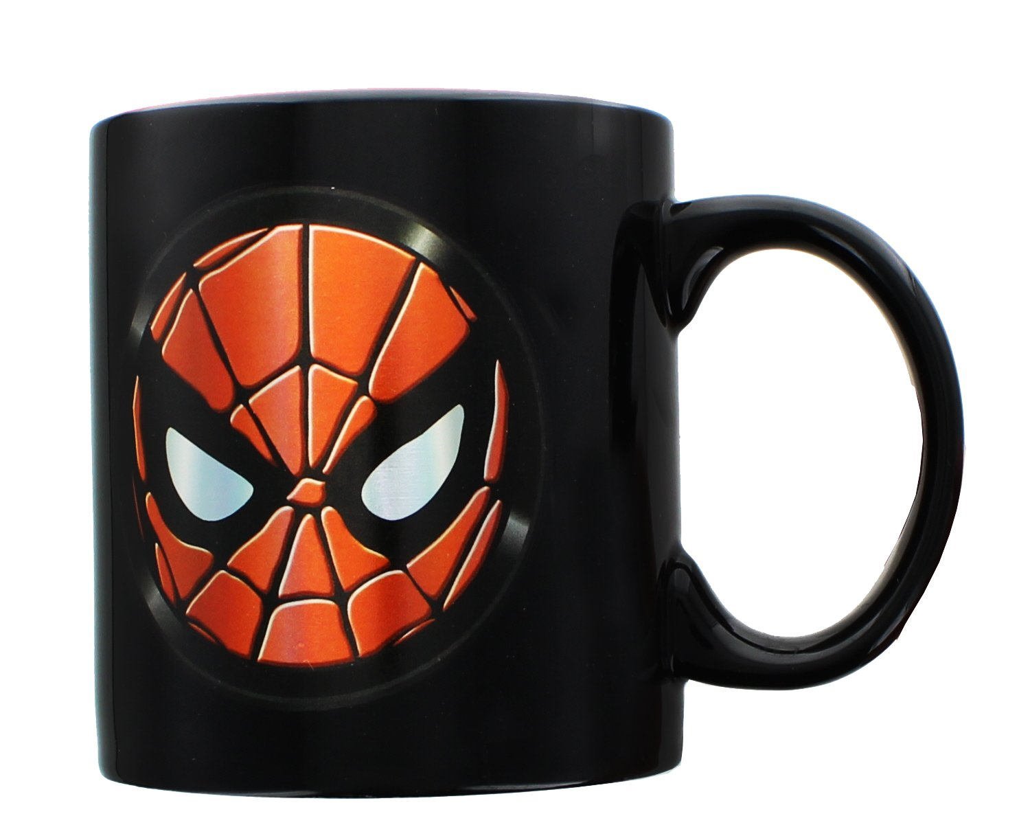 ICUP Marvel Spiderman Icon Iridescent Ceramic Mug, 20 oz, Clear by ICUP (Image #1)