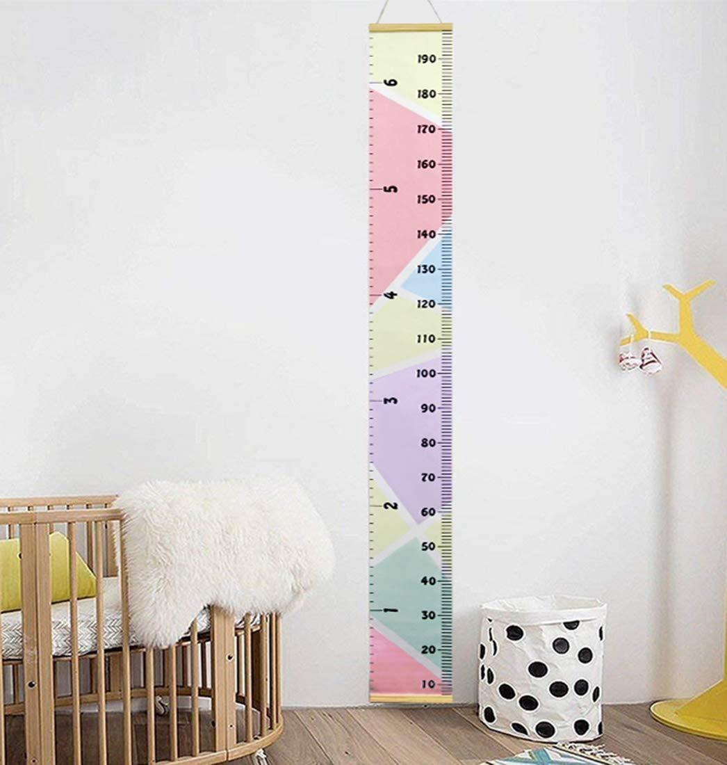 Repuhand Kinder Messlatte Wachstum Wall Chart H/öhe Diagramm Art zum Aufh/ängen Herrscher f/ür Kinder Schlafzimmer Kinderzimmer Wandtattoo Decor Abnehmbare H/öhe und Wachstum Diagramm