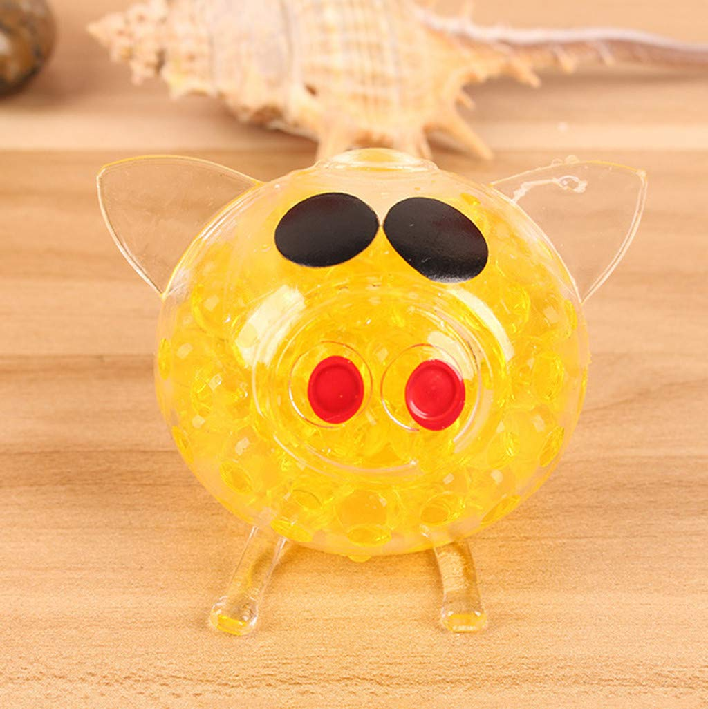 Toys & Hobbies Unique Bubble Gel Bead Filled Squishy Frog Decompression Ball Vent Adult Children Toys Kids Autism Toy Strees Relief Squeeze Toy Novelty & Gag Toys