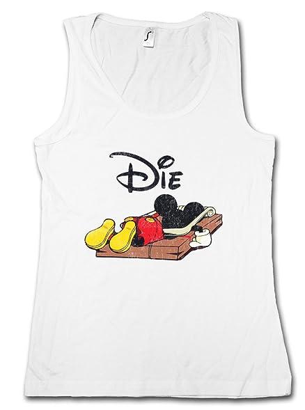MOUSE TRAP DAMEN TANK TOP – Mausefalle Maus Comic Mickey Fun Die Dead Größen  S –