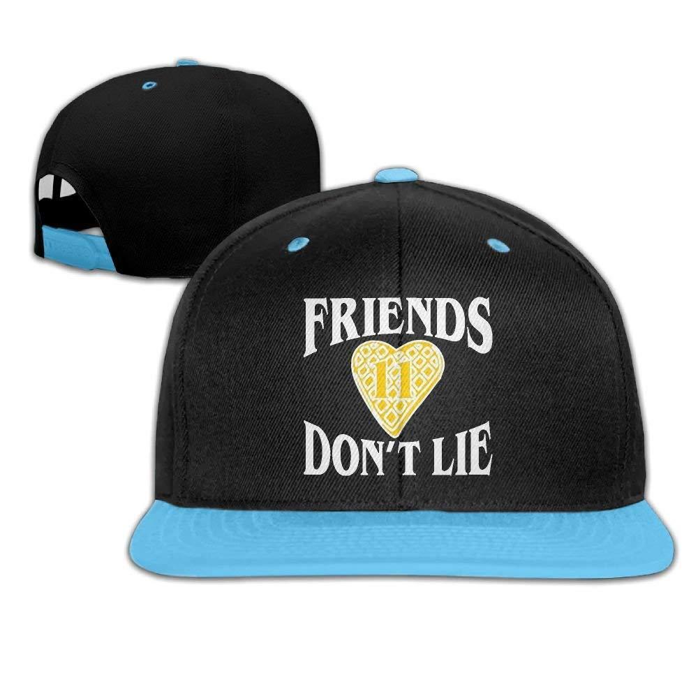 ZQHRS Friends Dont Lie Waffle Heart 11.PNG Gorras de béisbol ...