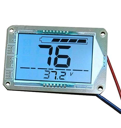 Amazon.com: Pantalla LCD de gran tamaño, indicador de ...