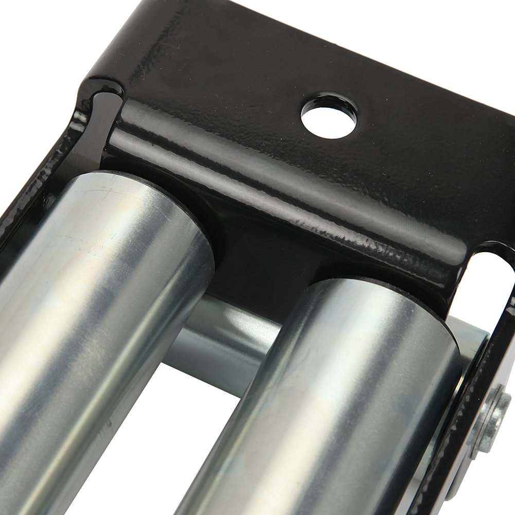 AUXMART Winch Roller Fairlead for Steel Cable 10'' Bolt Pattern by AUXMART (Image #8)