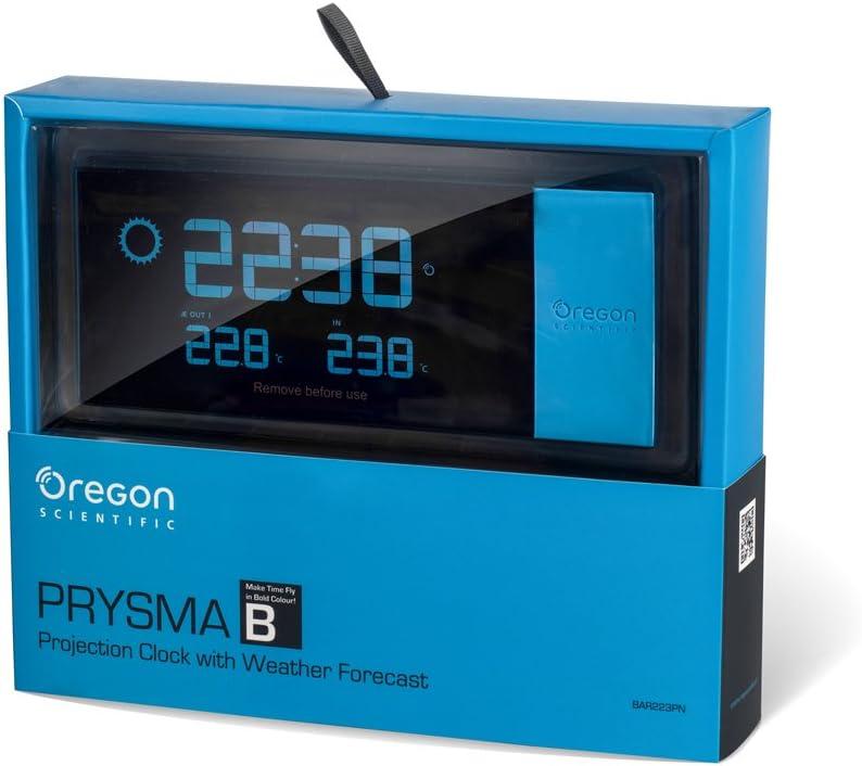 Oregon Scientific BAR223P - Estación meteorológica con reloj ...