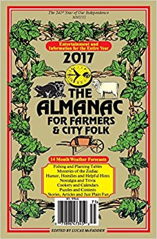 Image result for almanac for farmers & City Folk