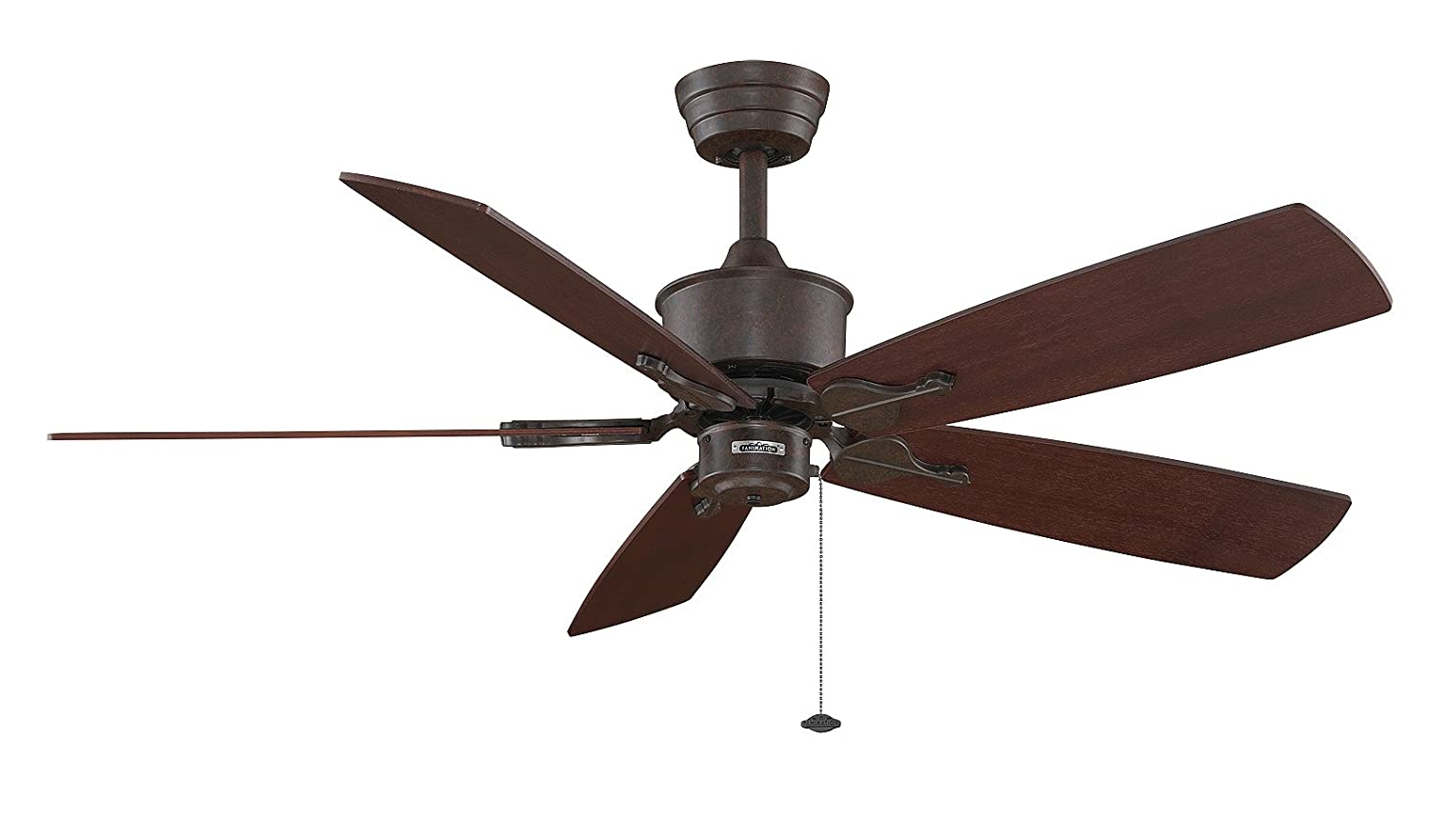 Fanimation fp320ab1 islander 5 blade ceiling fan in antique brass fanimation fp320ab1 islander 5 blade ceiling fan in antique brass amazon aloadofball Images