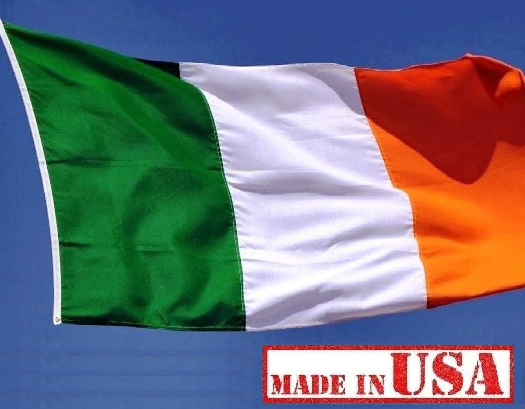 3x5 Irish Ireland 200D nylon printed Flag 3/'x5/' ft House Banner