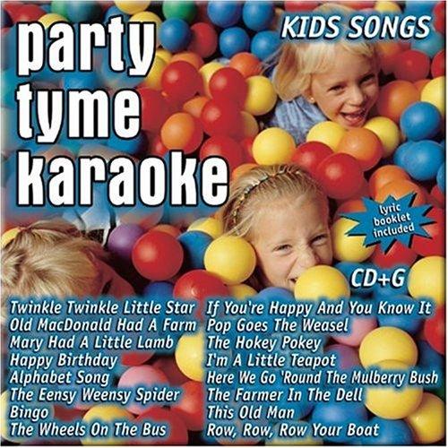 Party Tyme Karaoke - Kids Songs (16-song CD+G)