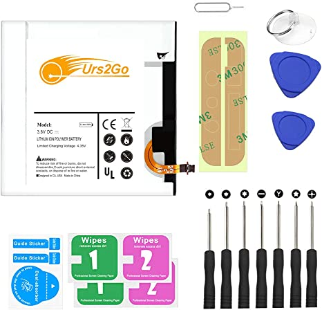 5100mAh Replacement Internal Battery for Samsung Galaxy Tab A 8.0 Upgraded 2018 SM-T387V Verizon w//Screwdriver Tools Kit