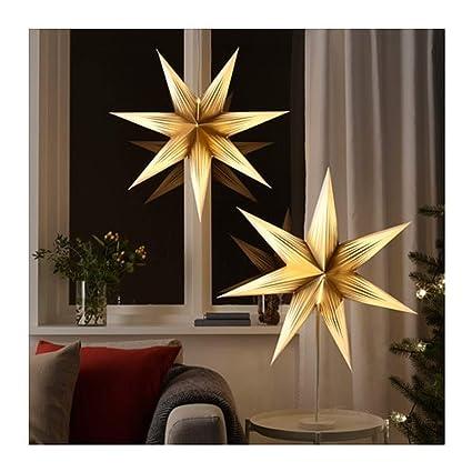 Ikea Strala - Lámpara de Techo, diseño de Estrella, Color ...