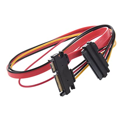 Image Unavailable Not Available For Color TOOGOOR 15 7 Pin Male To Female SATA Data