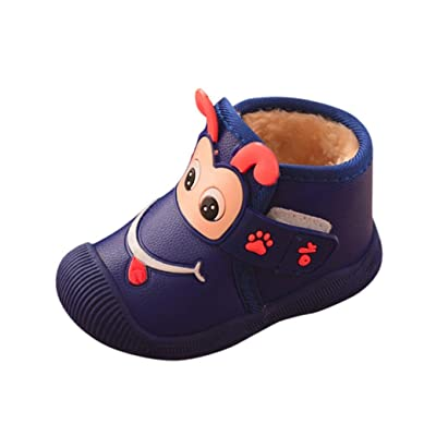 29b6886d4b77c Iuhan Monkey Children Newborn Cartoon Flock Warm Sneakers Baby Girls ...