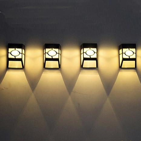 Solar LED Luz hirolan Seguridad iluminación de exterior jardín ...