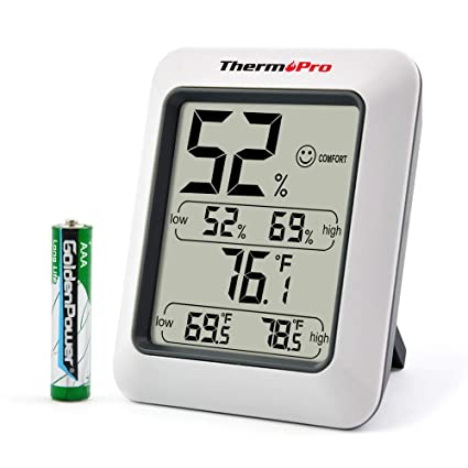 Amazon.com  ThermoPro TP50 Digital Hygrometer Indoor Thermometer ... 54ca040e3c810