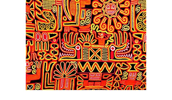 PHOTOGRAPHY COMPOSITION PERUVIAN BLANKET INCA DESIGN SUN PRINT POSTER MP3419A