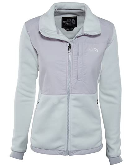 39430a22f The North Face Women's Denali 2 Jacket TNF White/Lavender Blue XL