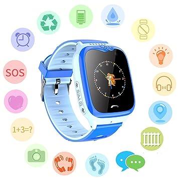 Smartwatch para niños, Reloj Resistente al Agua: Amazon.es ...