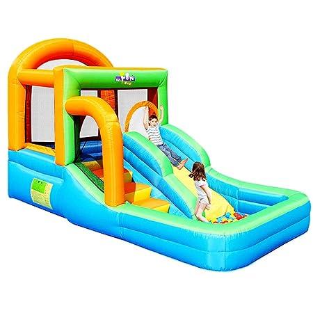 Castillo para niños en el Interior Parque de diversiones ...