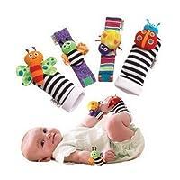 LAAT Bébé Chaussettes Animal Bande de Poignet Bébé Très Mignonne Confortable Il y a Des Cloches à l'intérieur