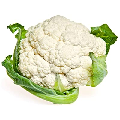 Sow No GMO Cauliflower Snowball Y Improved Non GMO, Heirloom Vegetable Garden 50 Seeds: Home & Kitchen