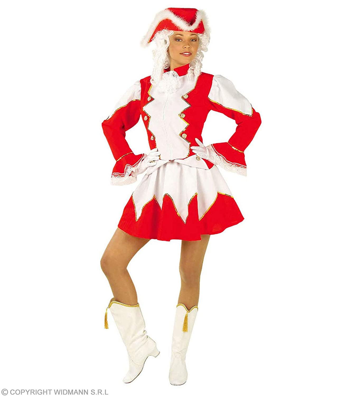 Amazon com: Ladies Majorette Lady Costume Small Uk 8-10 For