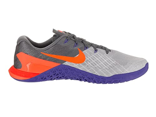 Zapatillas de deporte Nike Metcon 3 Cross Training nuevas para hombre (10, Wolf Grey / Tart / Dark Grey)