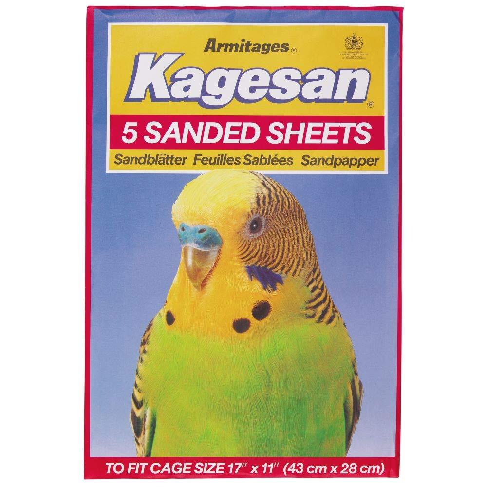 Armitage Bird Cage Sandsheet No6 Red