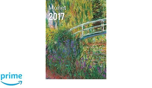 Yvon agenda 2017 Monet con cierre magnético: Amazon.es ...
