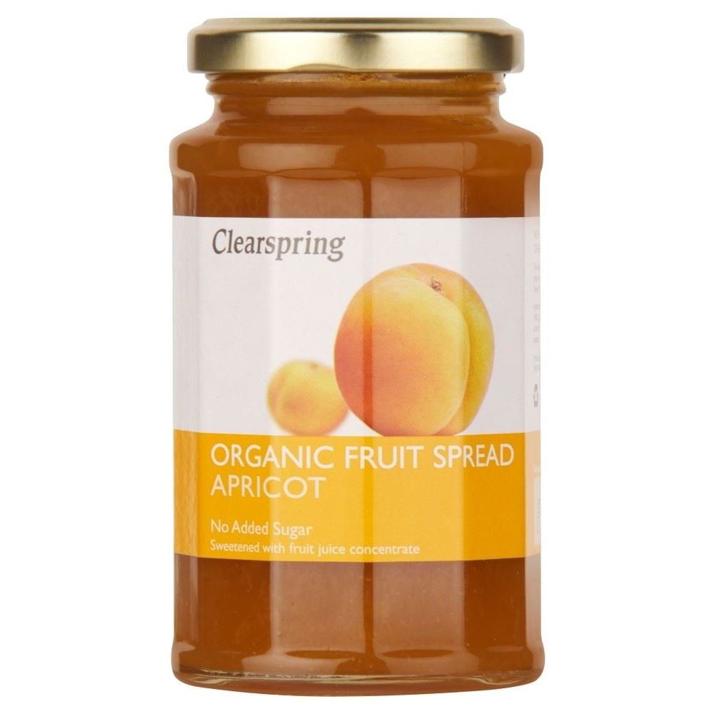 Clearspring Apricot Fruit Spread (290g) - Pack of 2
