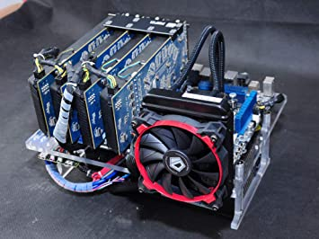 PC Test Bench Open Case DIY Mini ITX MATX ATX Bare Frame Support Graphics Card